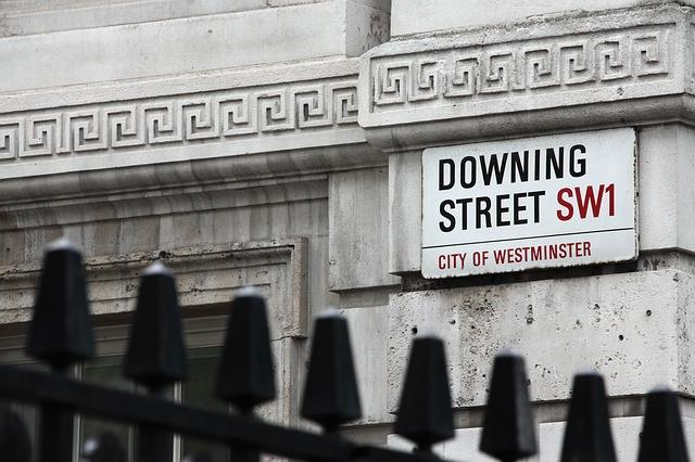 10 Downing Street London Directory Street Sign